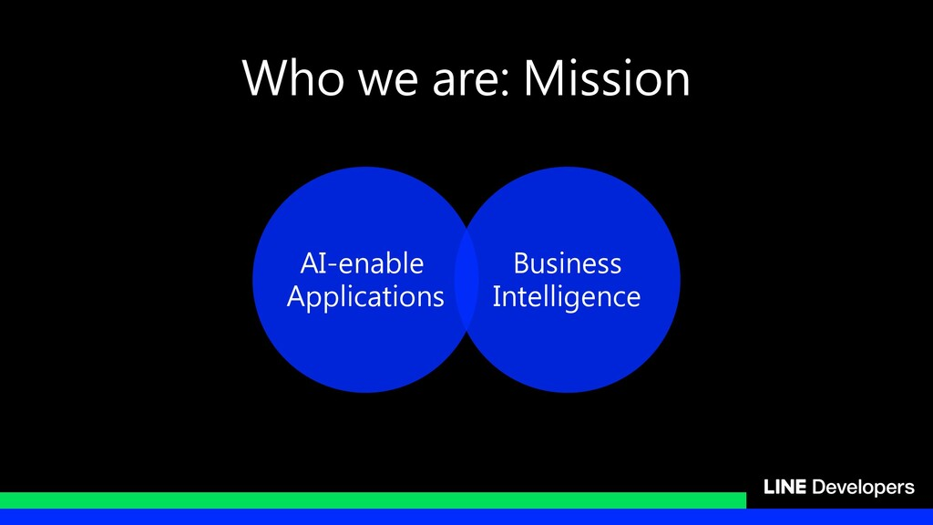 Who we are: Mission AI-enable Applications Busi...
