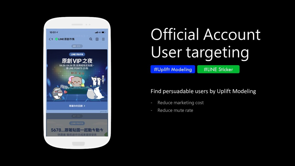 Official Account User targeting #Uplift Modelin...