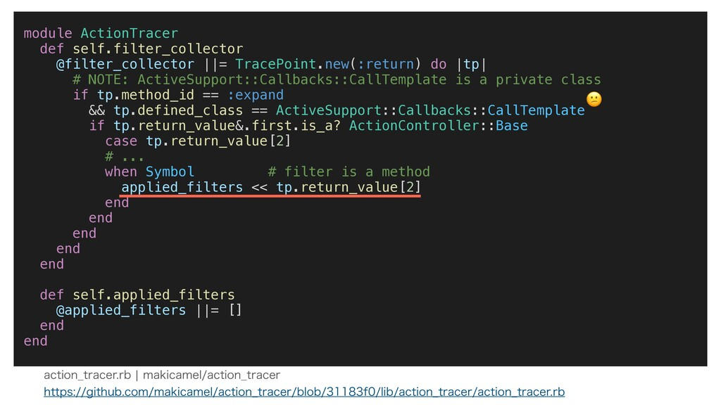 module ActionTracer def self.filter_collector @...
