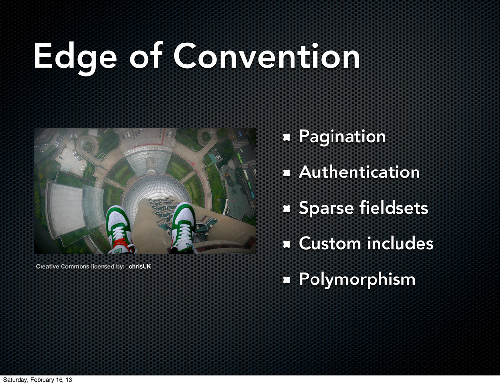 Edge of Convention Pagination Authentication Sp...