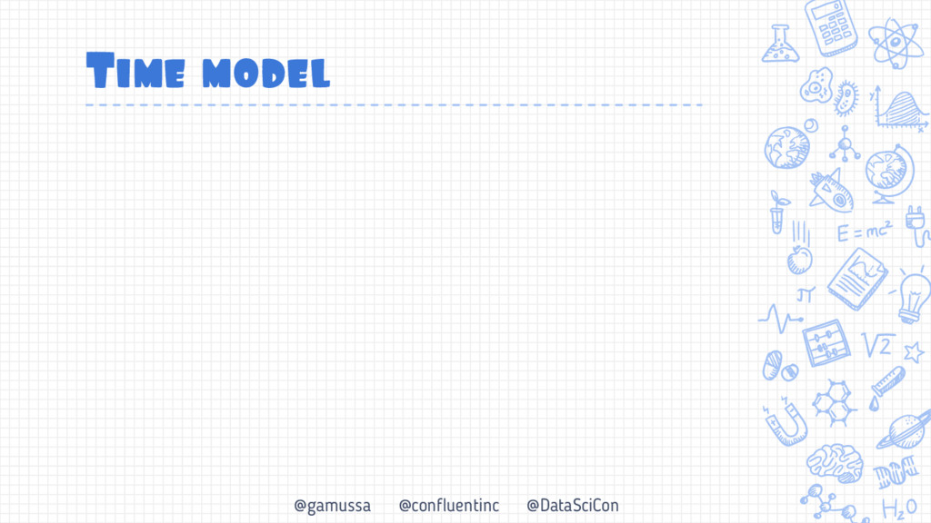 @gamussa @confluentinc @DataSciCon Time model