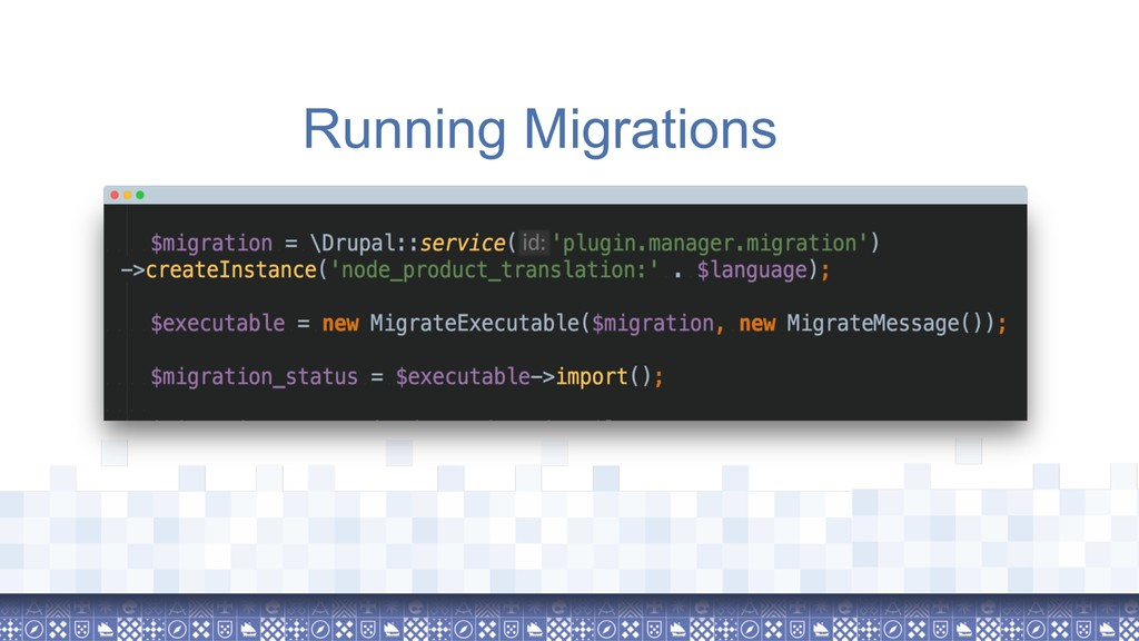 Running Migrations