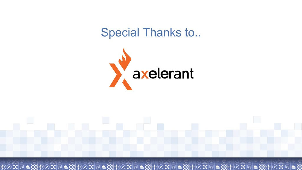 Special Thanks to..