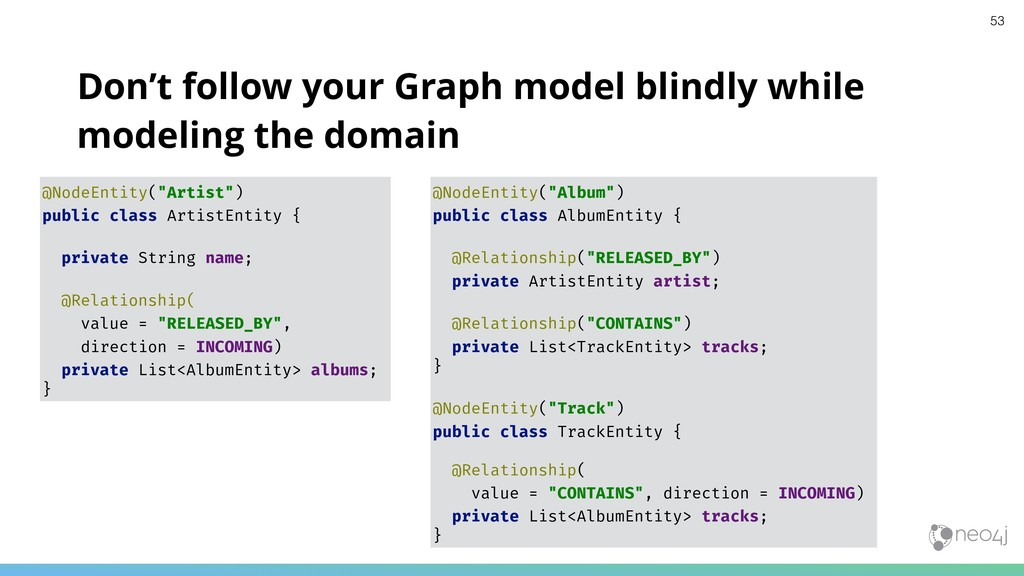 Don't follow your Graph model blindly while mod...