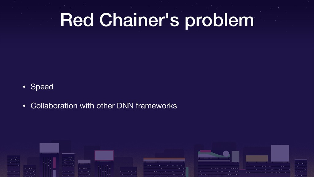 Red Chainer's problem • Speed  • Collaboration ...