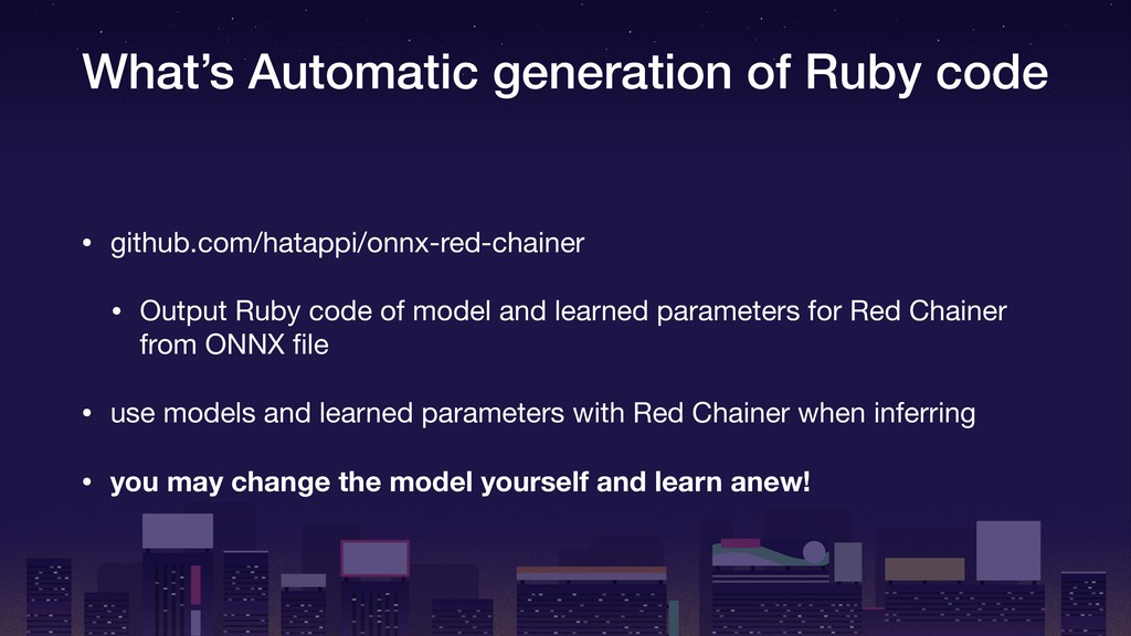 What's Automatic generation of Ruby code • gith...