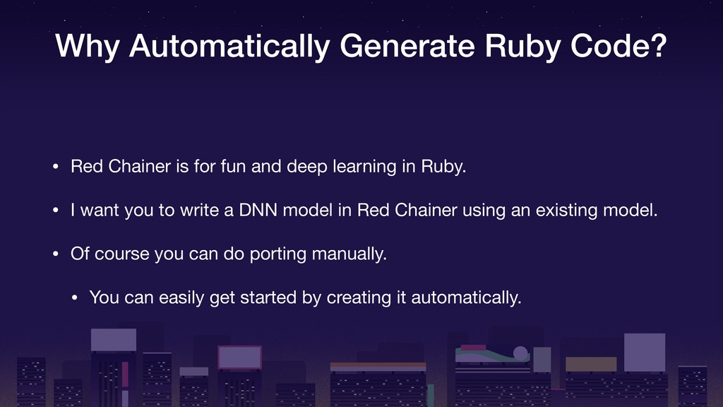 Why Automatically Generate Ruby Code? • Red Cha...