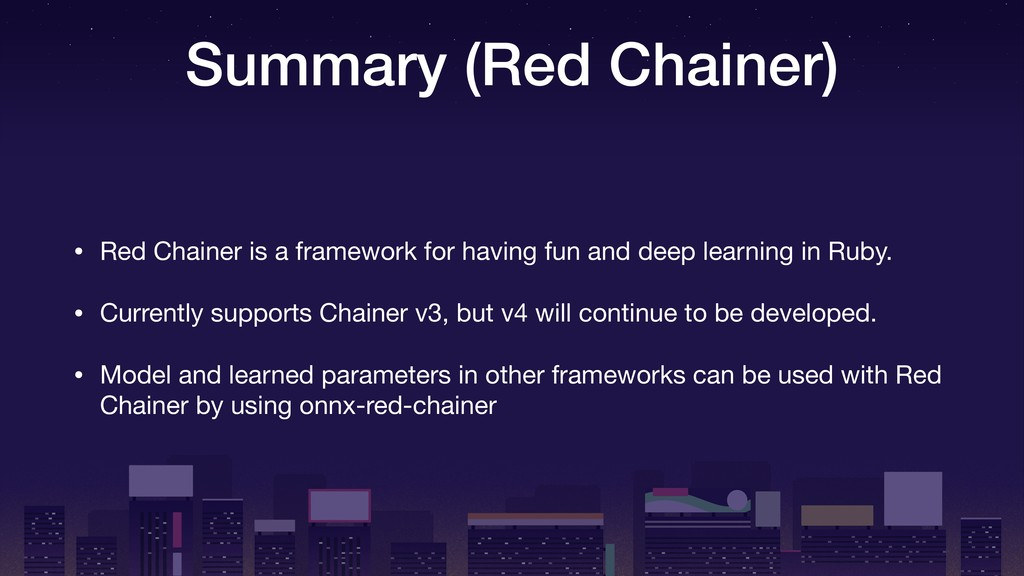 Summary (Red Chainer) • Red Chainer is a framew...