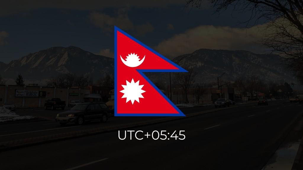 UTC+05:45