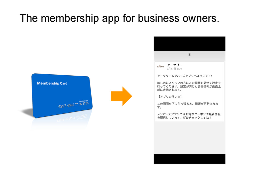 The membership app for business owners.