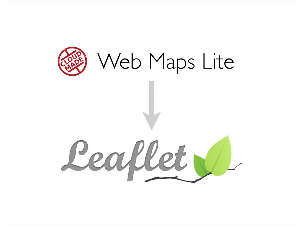 Web Maps Lite