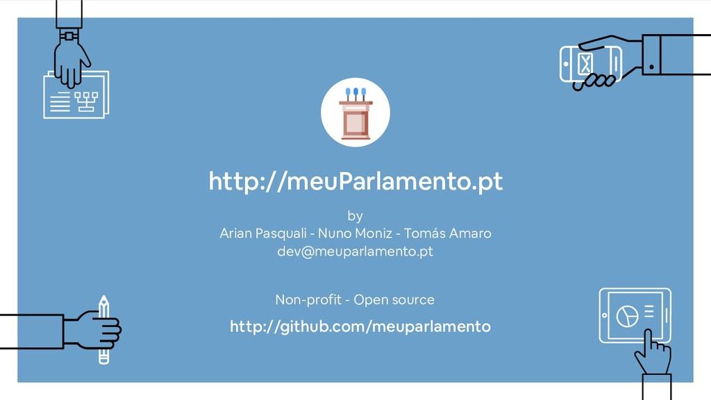 http://meuParlamento.pt by Arian Pasquali - Nun...