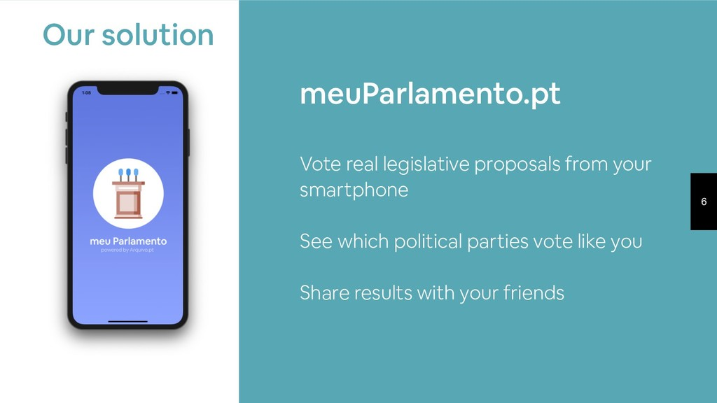 6 Vote real legislative proposals from your sma...