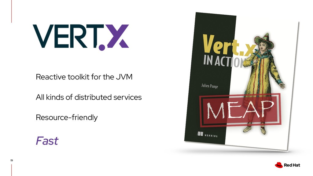 19 Reactive toolkit for the JVM All kinds of di...