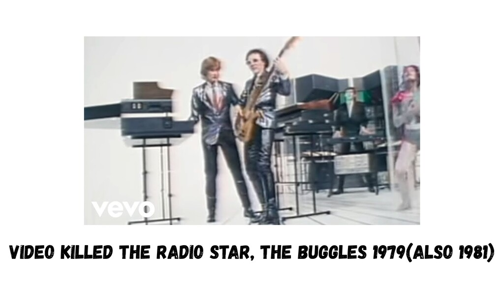 Video Killed the Radio Star, The Buggles 1979(a...