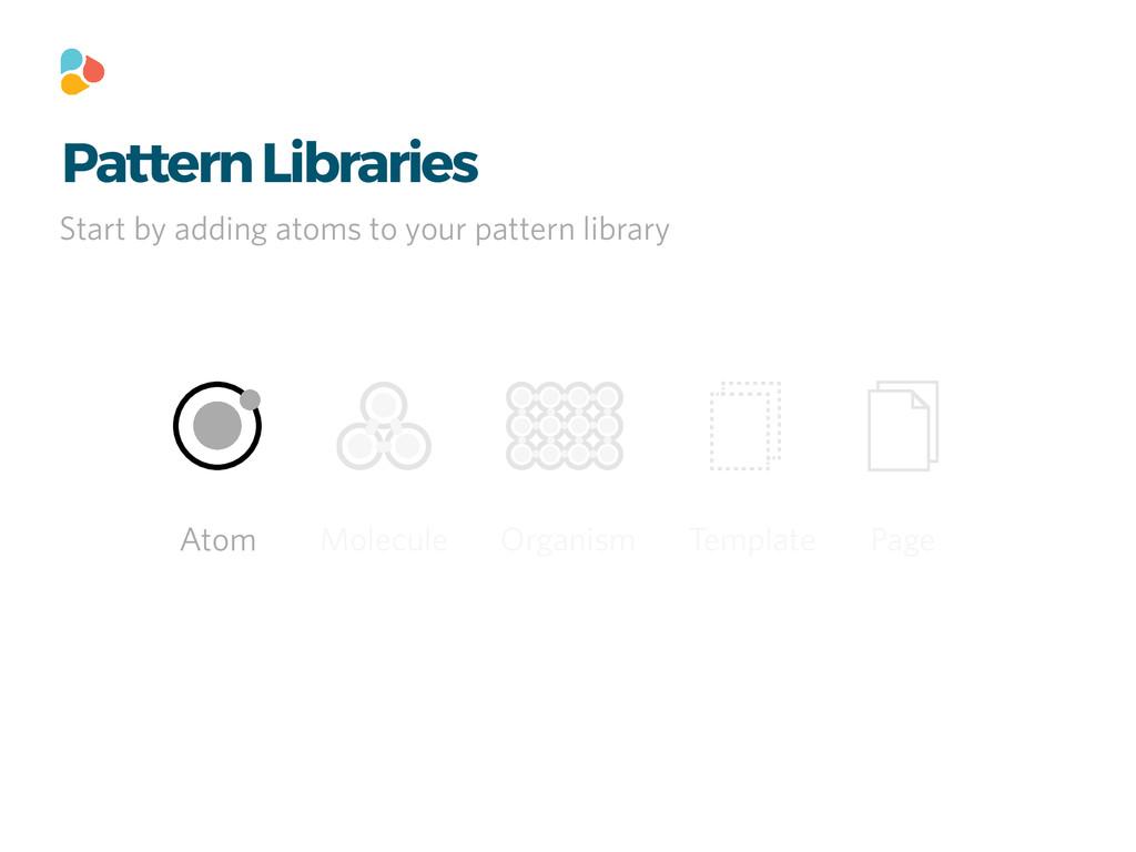 Pattern Libraries Atom Molecule Organism Templa...