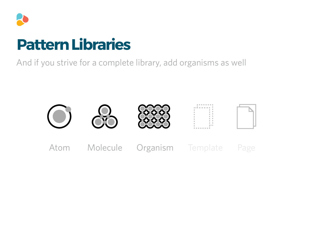 Pattern Libraries Atom Molecule Organism Templa...