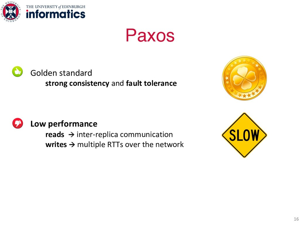 Golden standard strong consistency and fault to...