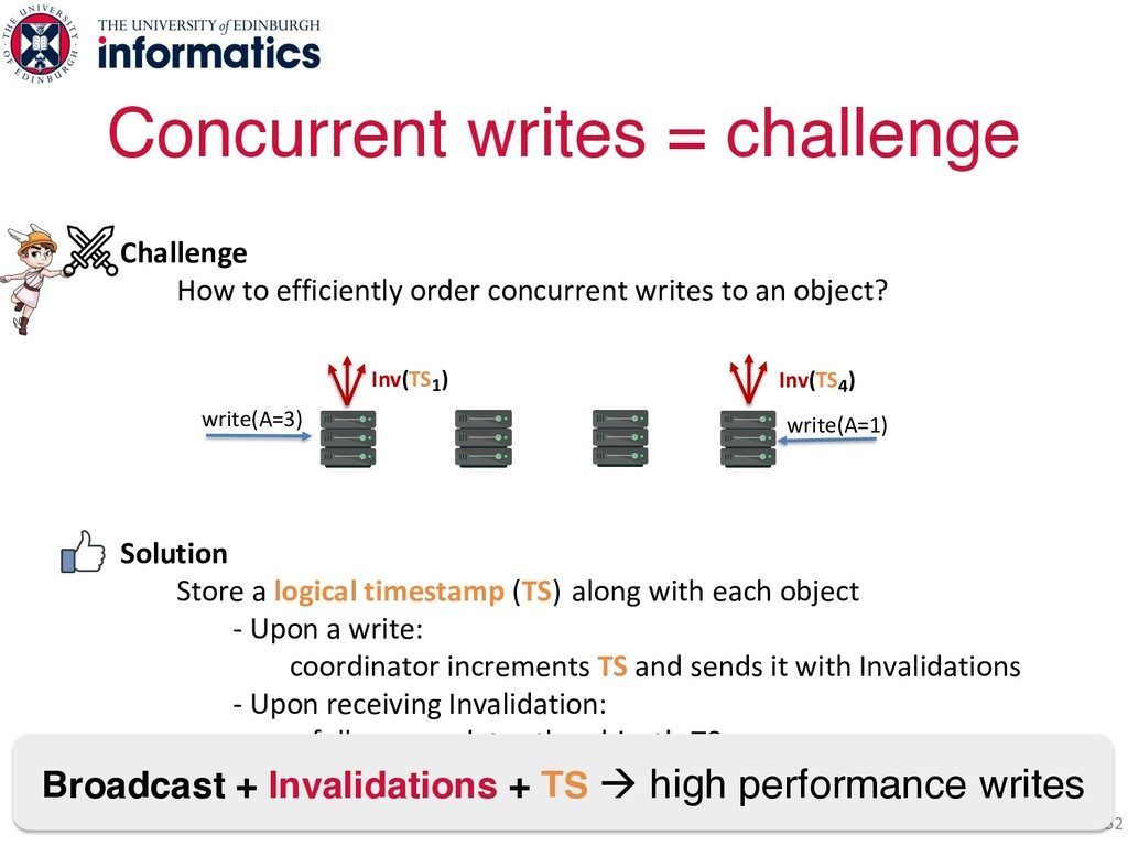 Challenge How to efficiently order concurrent w...