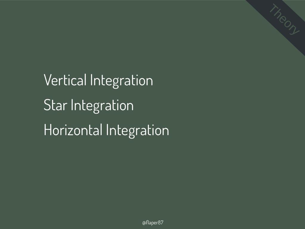@flaper87 Vertical Integration Star Integration...