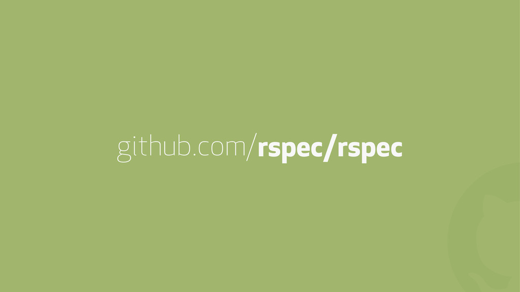 ! github.com/rspec/rspec