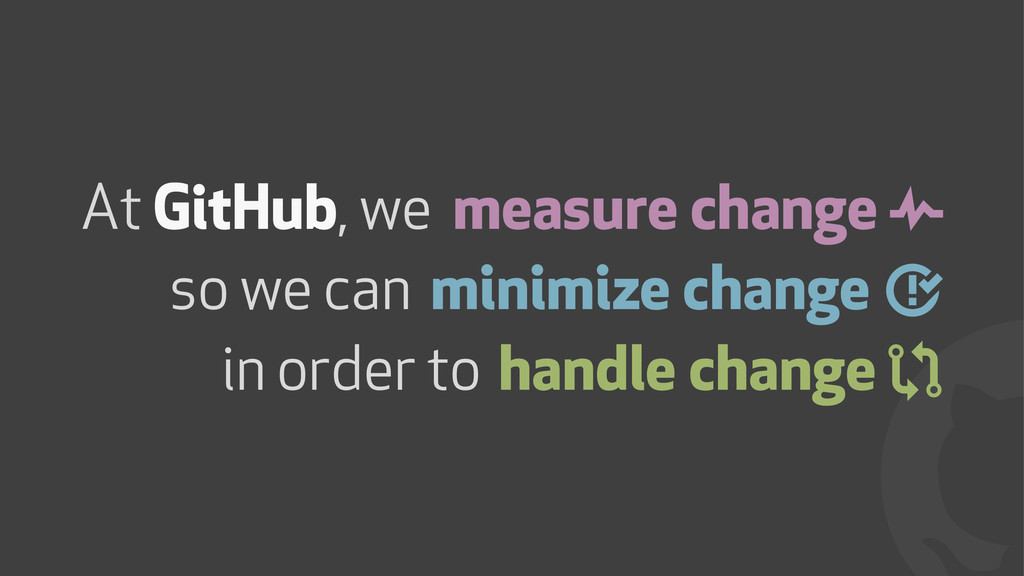 ! measure change & minimize change ' handle cha...