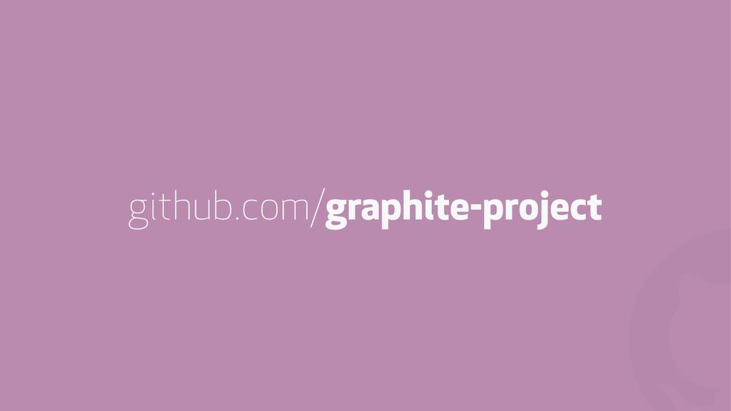 ! github.com/graphite-project