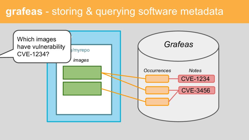 grafeas - storing & querying software metadata ...