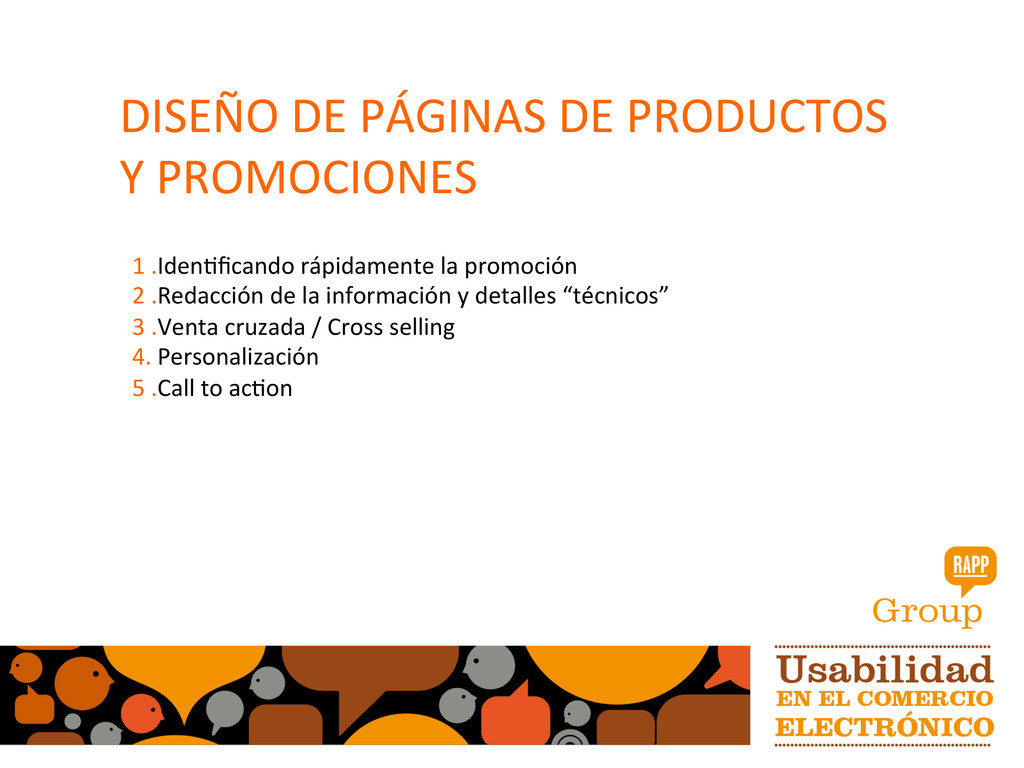 DISEÑO DE PÁGINAS DE PRODUCTOS ...