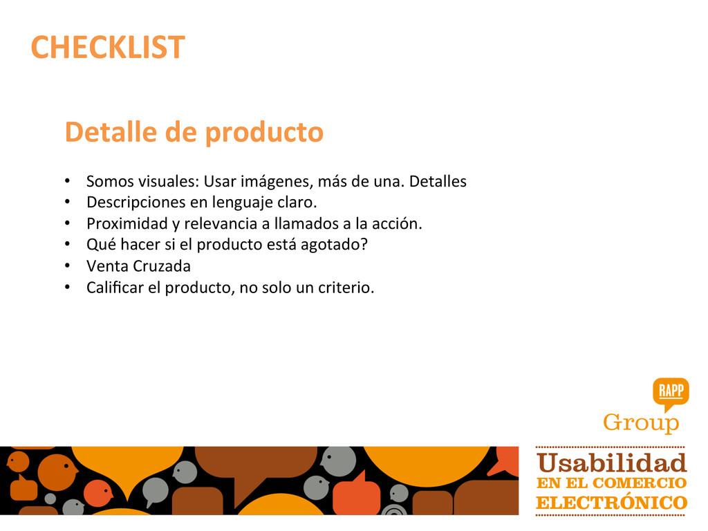 Detalle de producto  • Somos visua...