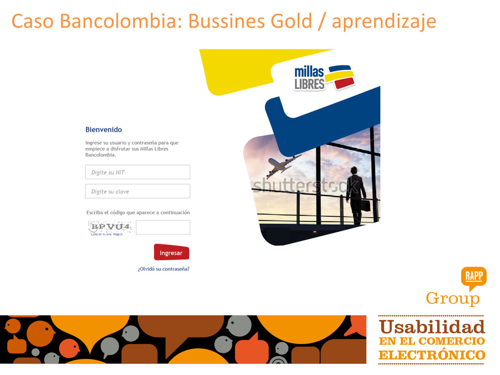 Caso Bancolombia: Bussines Gold /...