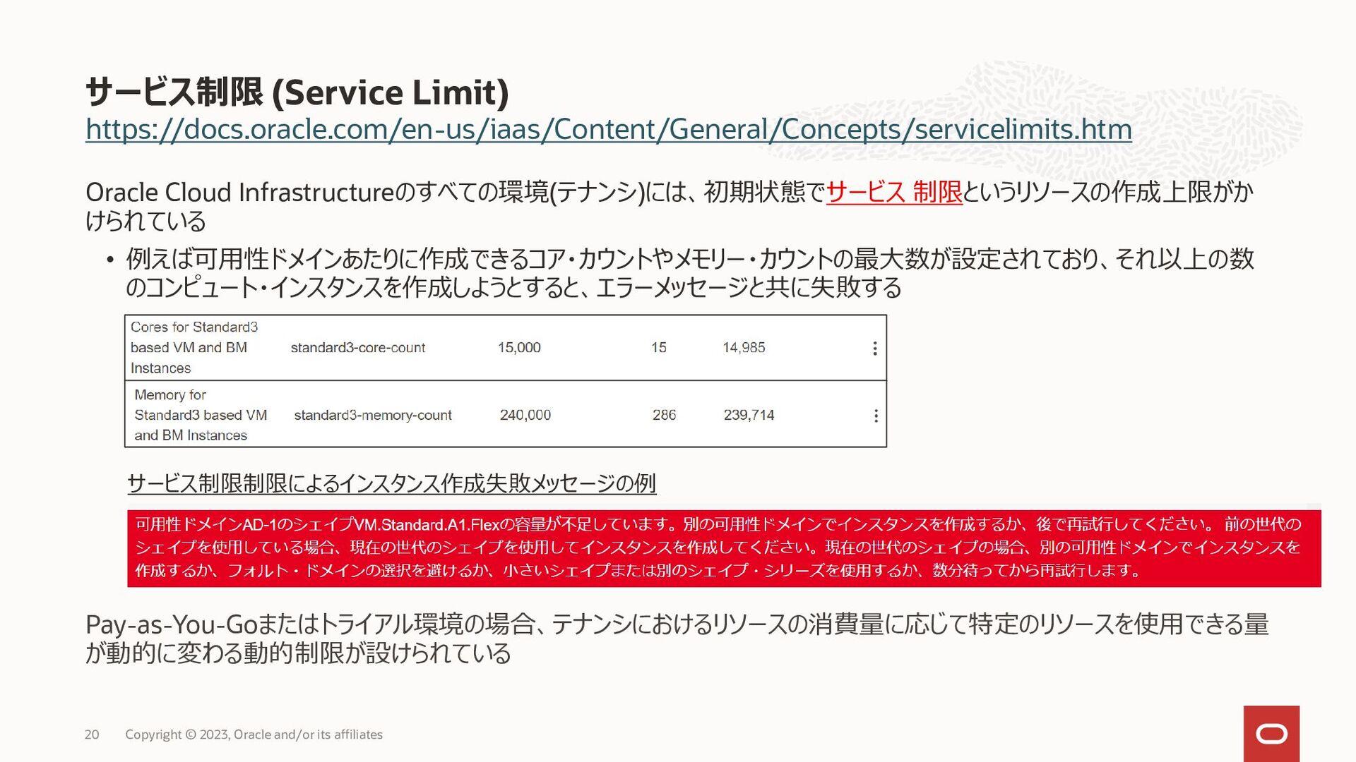 • • • • • • • & • • • • • VCN VCN • • (Service ...