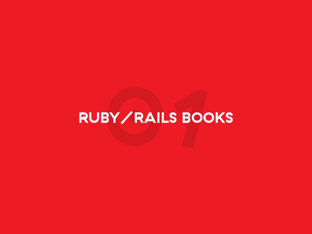01 RUBY/RAILS BOOKS