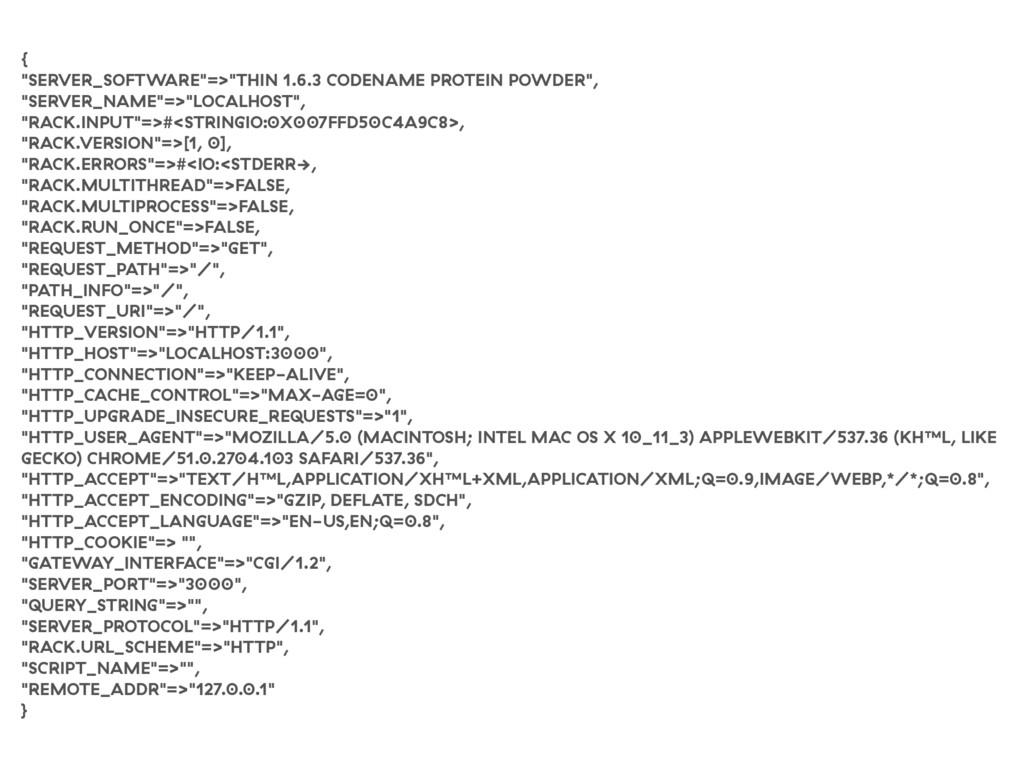 "{ ""SERVER_SOFTWARE""=>""THIN 1.6.3 CODENAME PROTE..."