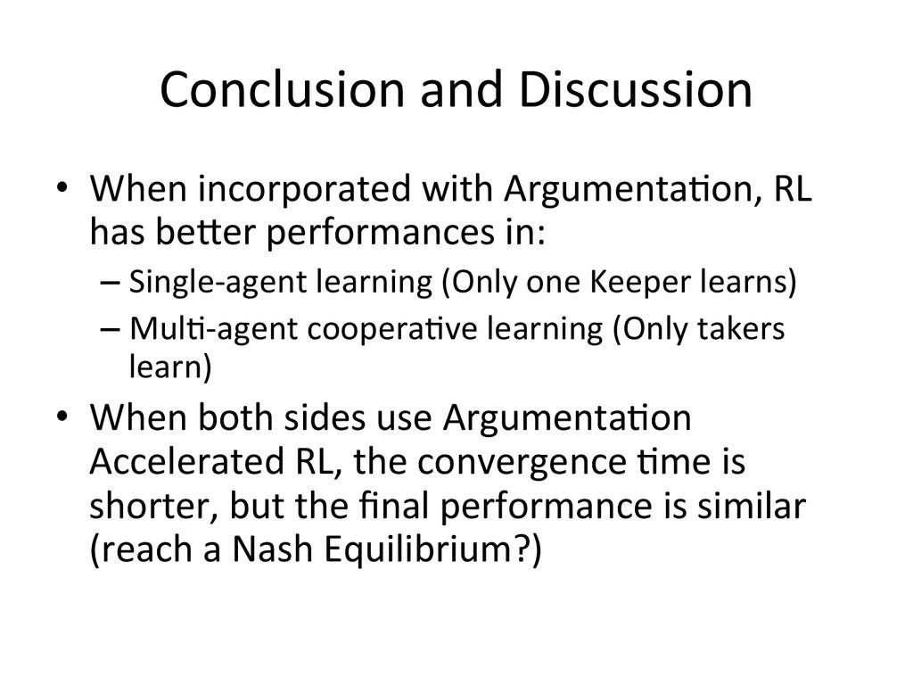 Conclusion and Discussion • When inco...