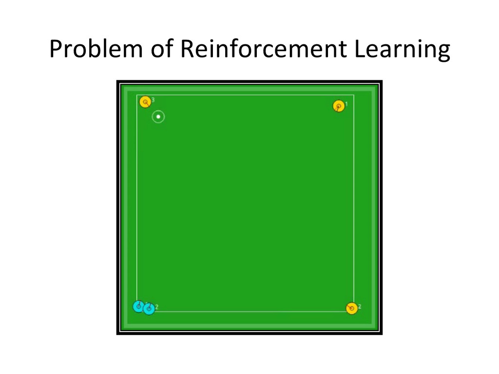 Problem of Reinforcement Learning