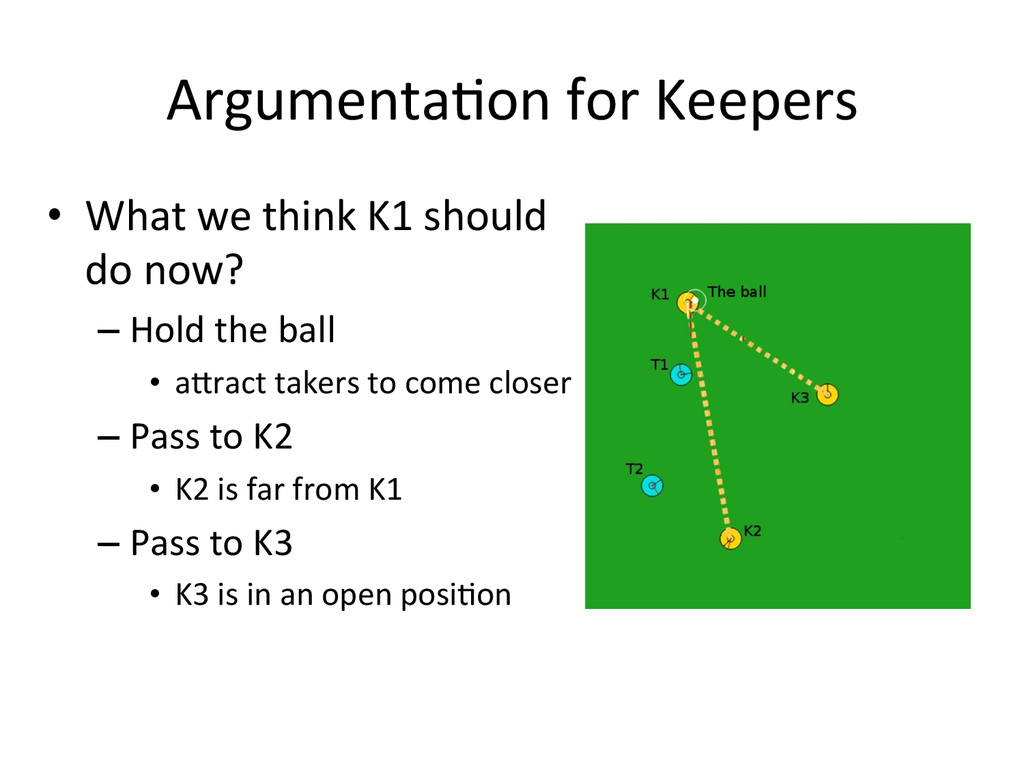 ArgumentaLon for Keepers • What we ...