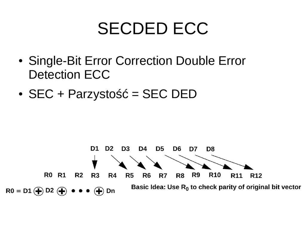 SECDED ECC ● Single-Bit Error Correction Double...
