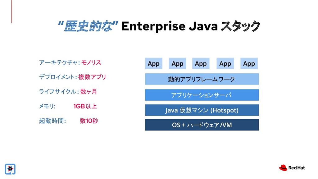 """""""歴史的な"""" Enterprise Java スタック ハードウェア 仮想マシン アプリケーシ..."""