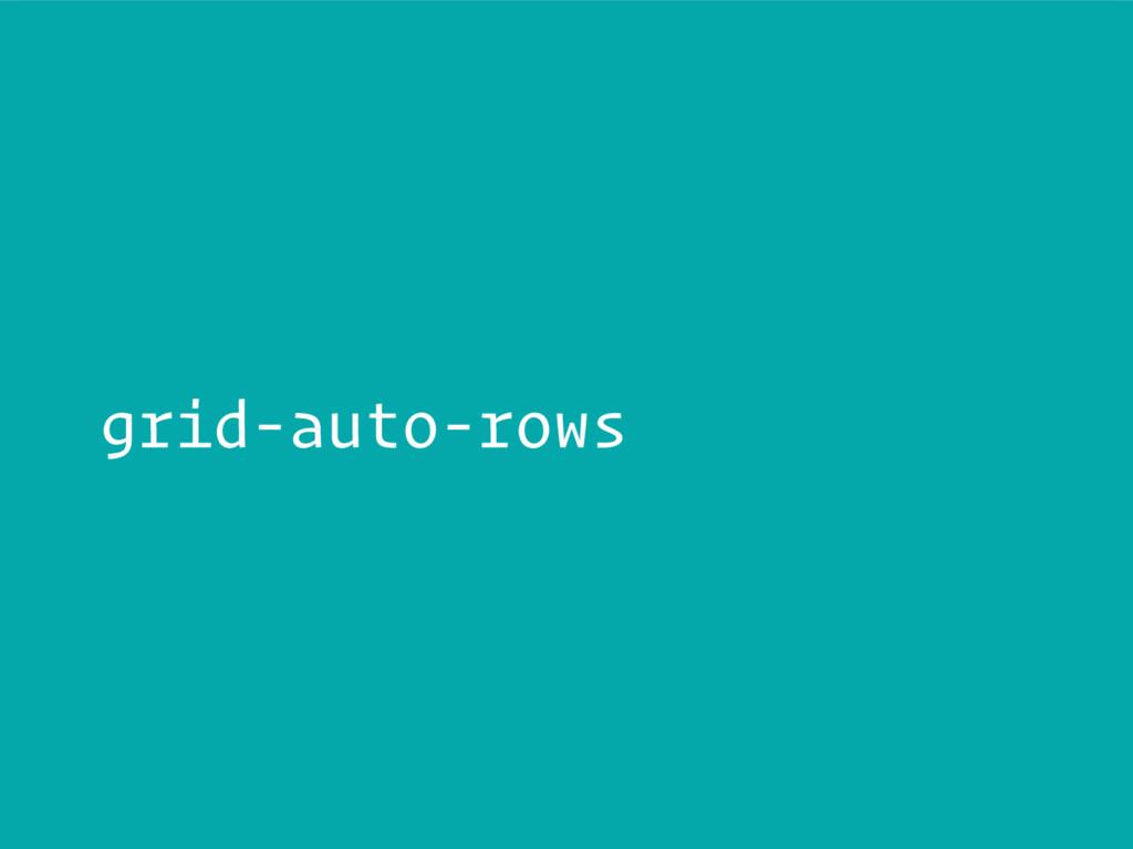 grid-auto-rows