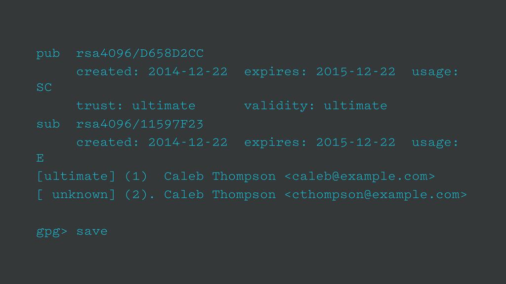 pub rsa4096/D658D2CC created: 2014-12-22 expire...