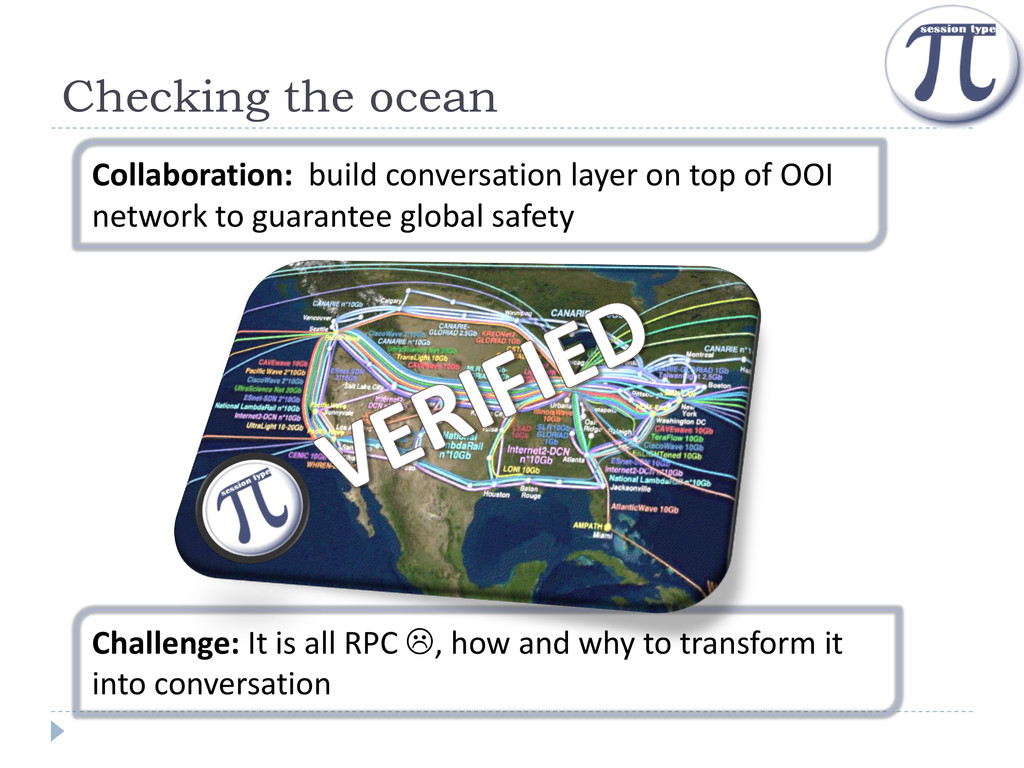 Checking the ocean Challenge: It is all RPC , ...