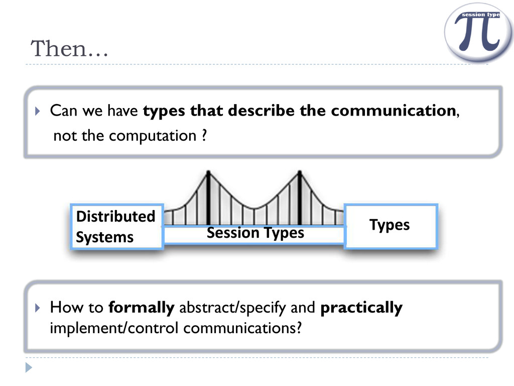 Then…  Can we have types that describe the com...