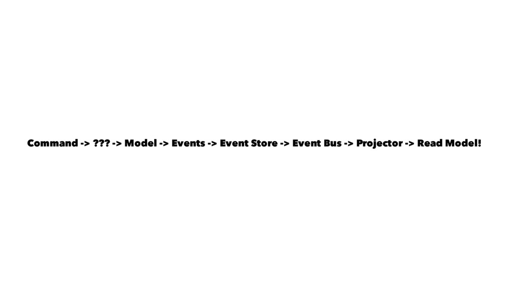 Command -> ??? -> Model -> Events -> Event Stor...