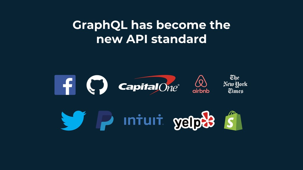 GraphQL has become the new API standard