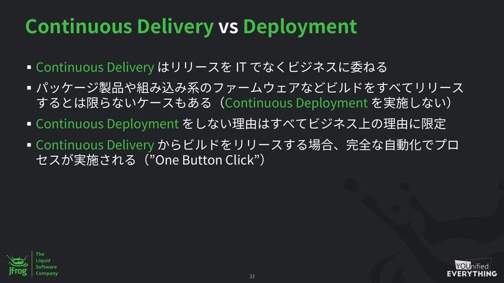 Continuous Delivery vs Deployment § Continuous ...