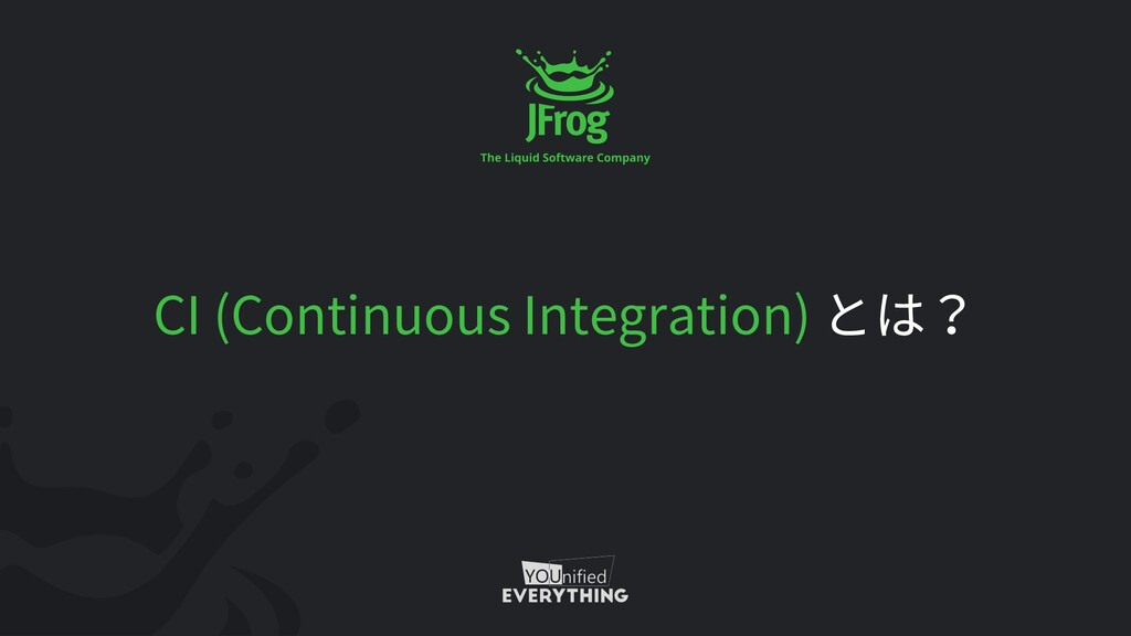 CI (Continuous Integration)