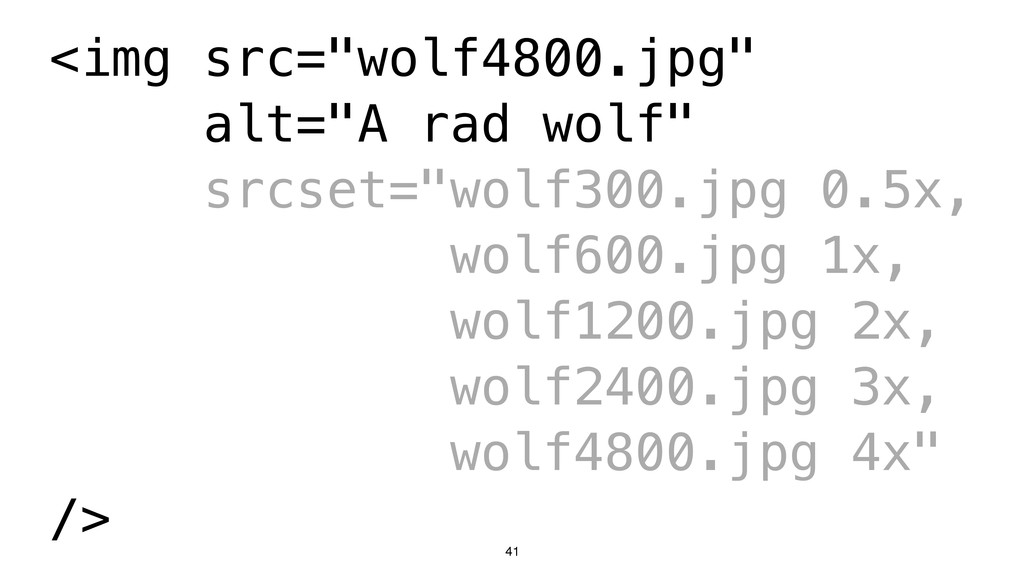 "41 <img src=""wolf4800.jpg"" alt=""A rad wolf"" src..."