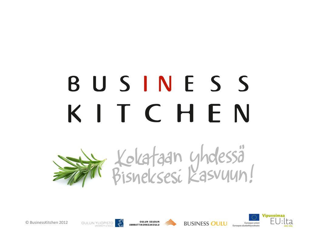 © BusinessKitchen 2012