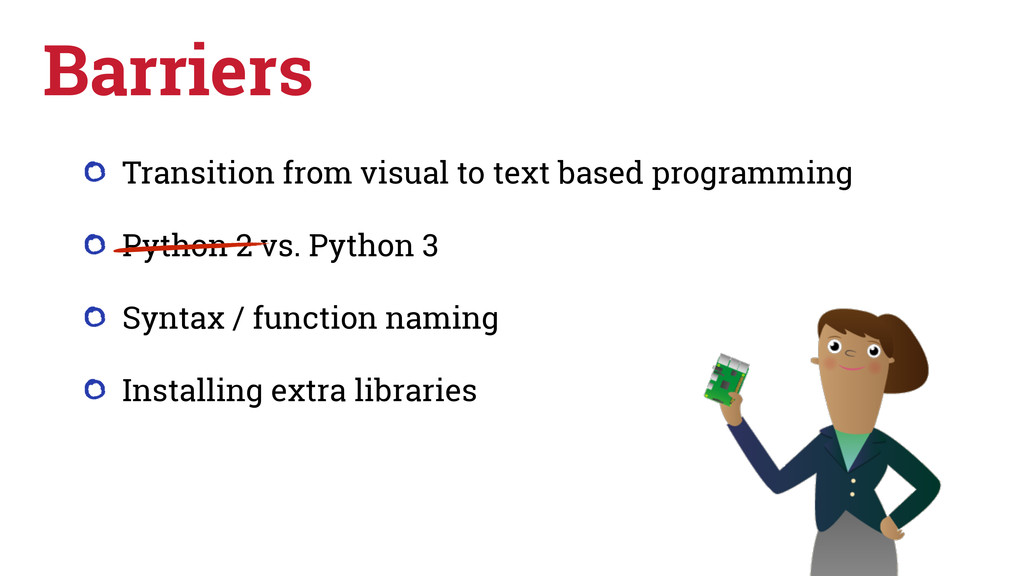 Transition from visual to text based programmin...